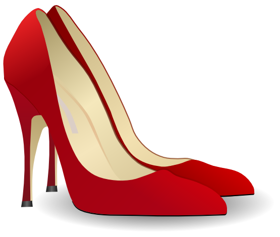 Clothes High Heels Pumps 555px.png - Heels PNG