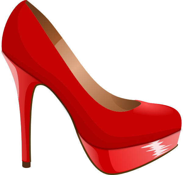 high heel svg | Red High Heel clip art - vector clip art online, royalty - Heels PNG