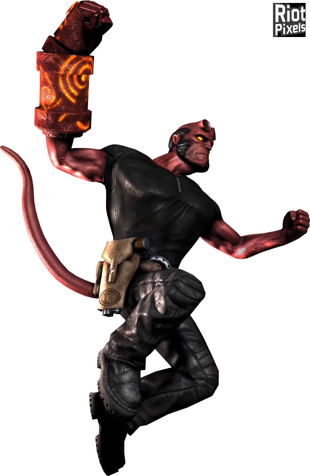 17 August 2008 - Hellboy PNG
