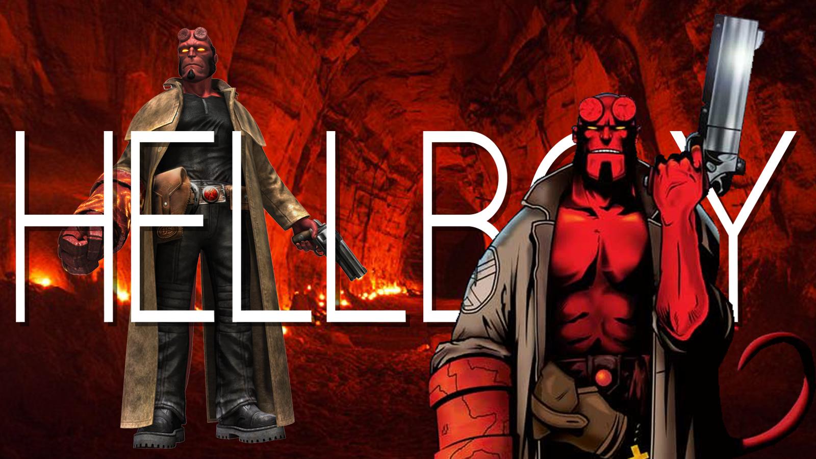Card Hellboy.png - Hellboy PNG