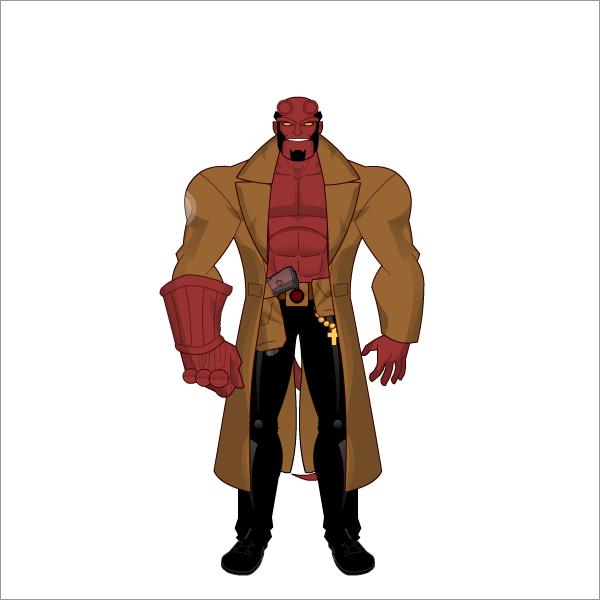 Hellboy by FabricadeHerois Hellboy by FabricadeHerois - Hellboy PNG