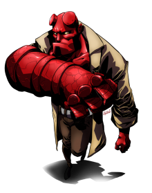 Hellboy PNG Transparent Image - Hellboy PNG