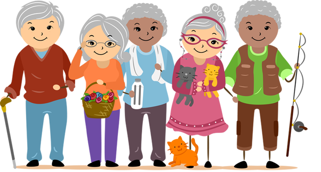 Helping Old Age People PNG - 166738