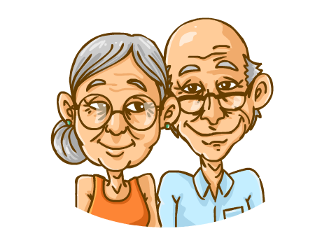 Old clipart group old person · Age - Helping Old Age People PNG