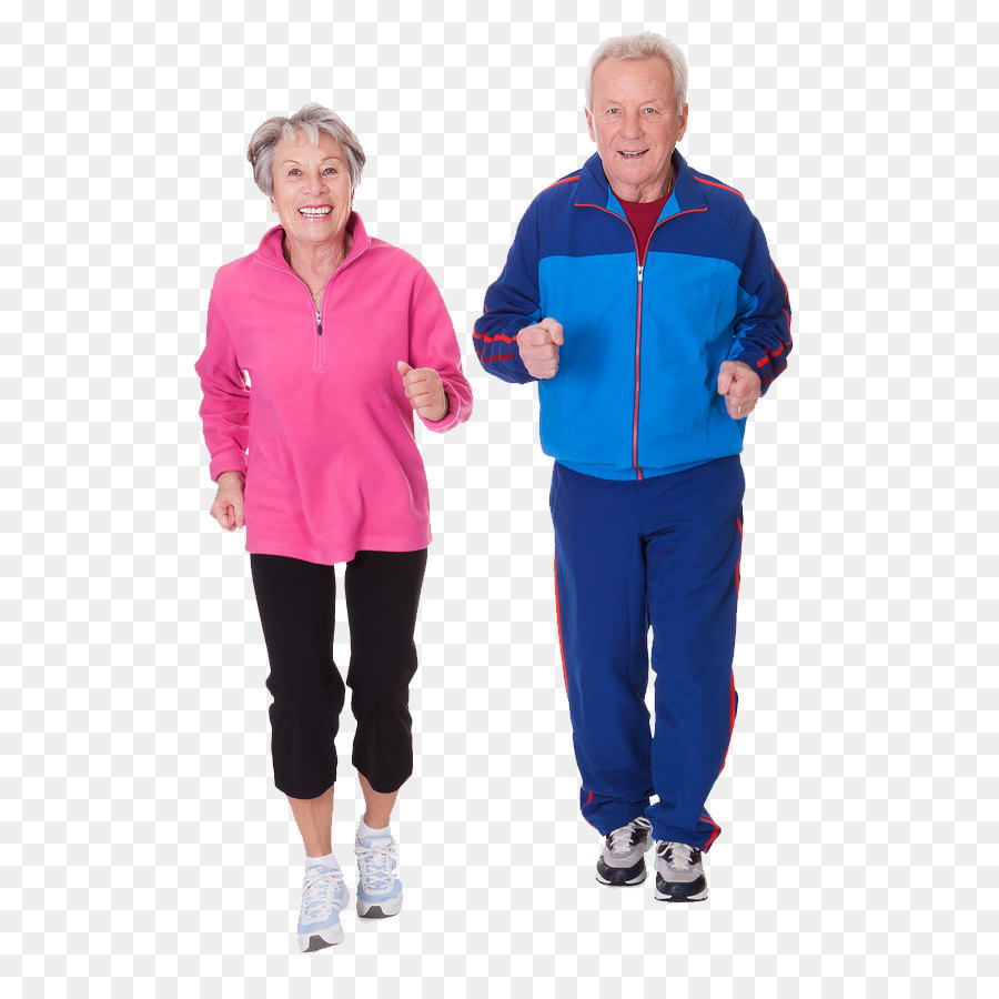 Physical exercise Old age Physical fitness Weight training Health - Running people  PNG image - Helping Old Age People PNG