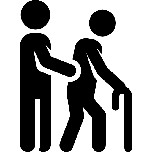 Helping Old Age People PNG - 166754