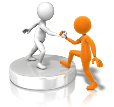 Figure_helping_up_buddy_400_clr_11080 - Helping Others PNG