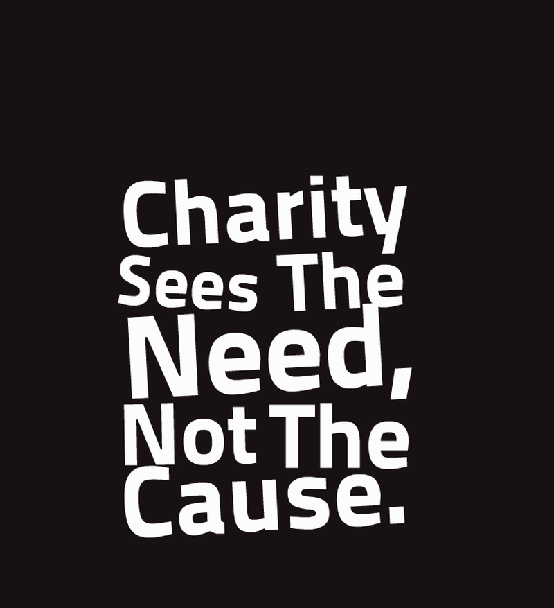Charity sees the need. - Helping The Poor And Needy PNG