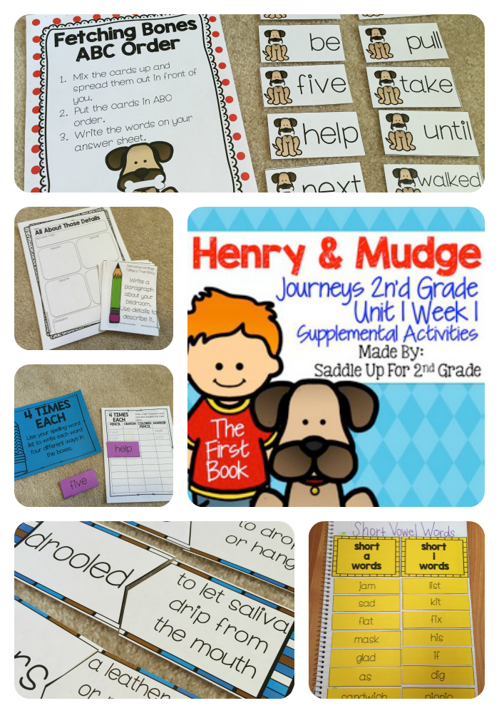 Henry and Mudge The First Book Supplemental Activities Journeys 2nd Grade - Henry And Mudge PNG