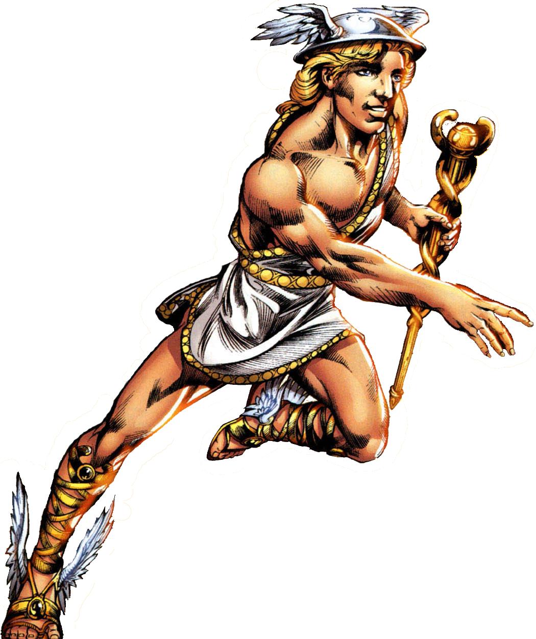 Hermes Diaktoros (Earth-616).png - Hermes PNG
