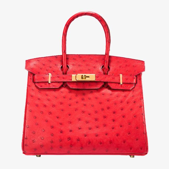 HERMES / Hermes Handbags Red, Product Kind, Hermes, Birkin Gold Buckle Free  PNG Image - Hermes PNG