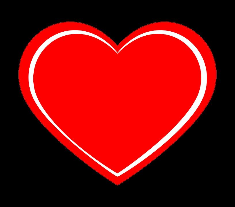 Herzen Rot PNG - 75325
