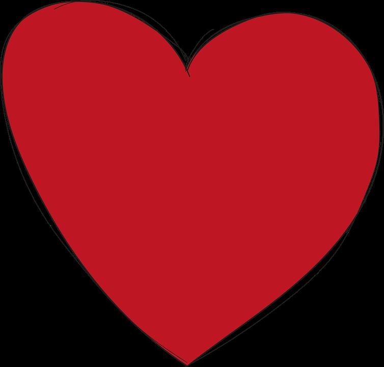 Herzen Rot PNG - 75329