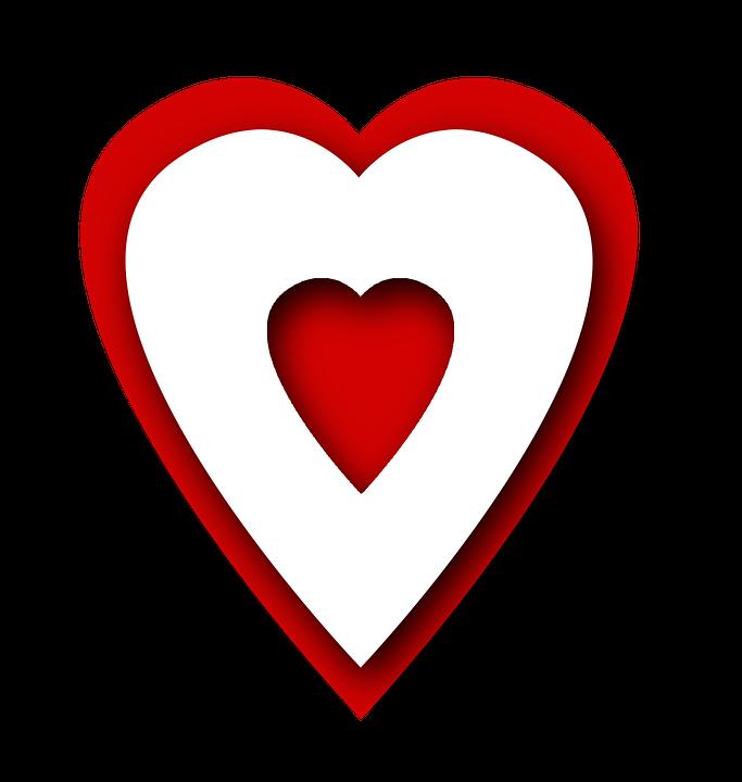 Herzen Rot PNG - 75330