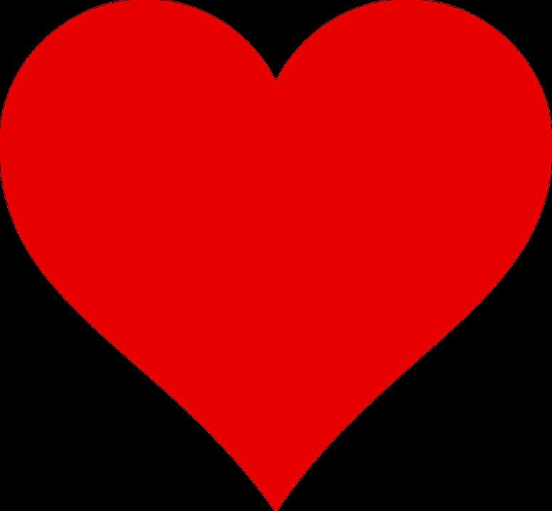Herzen Rot PNG