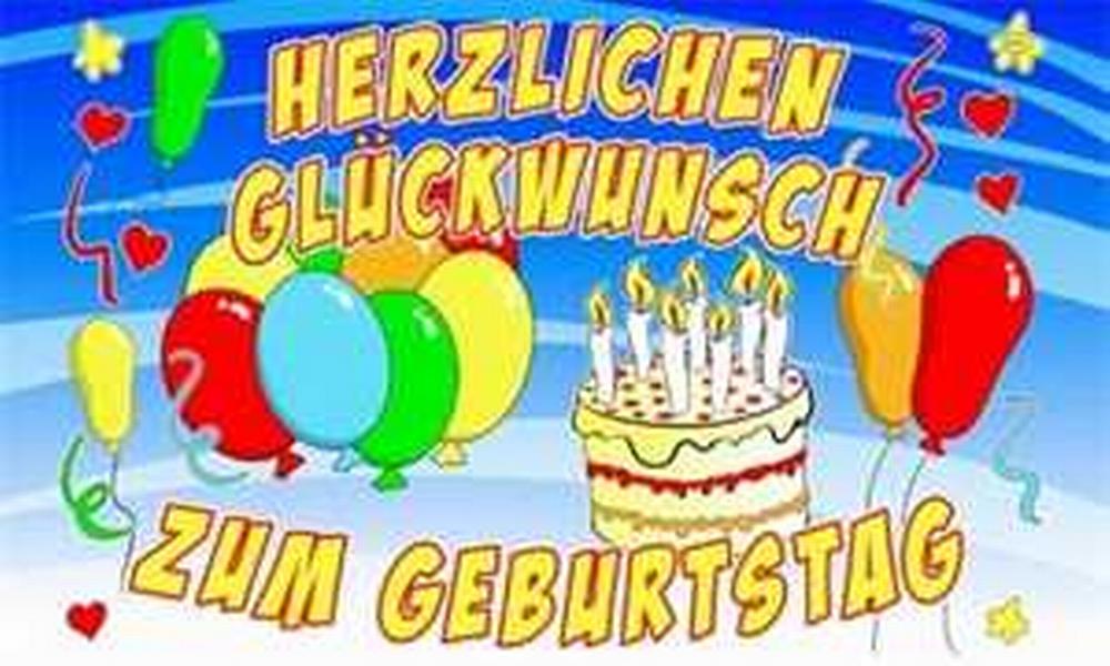 Flagge Herzlichen Glückwunsch zum Geburtstag 2 - Herzlichen Gluckwunsch Zum Geburtstag PNG