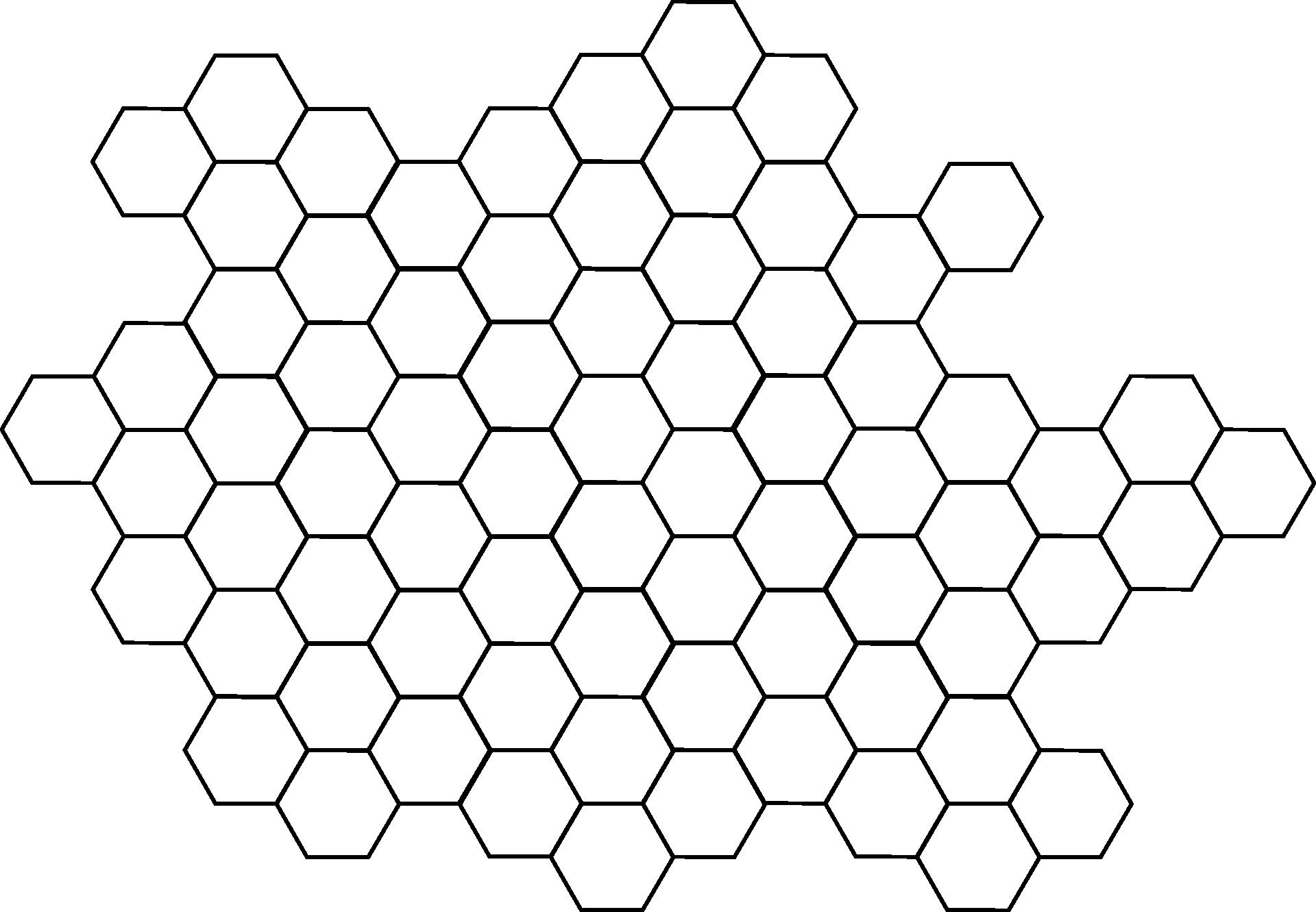 Hexagon PNG - 19659