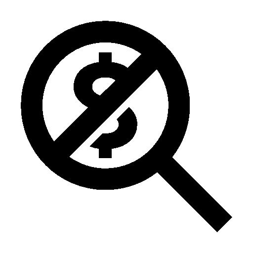 No Hidden Fee icon - Hidden PNG