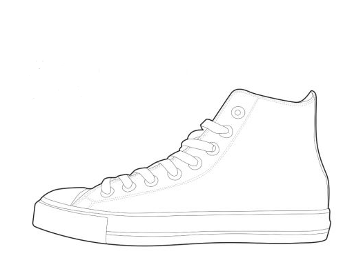 High Heel Outline PNG - 65903