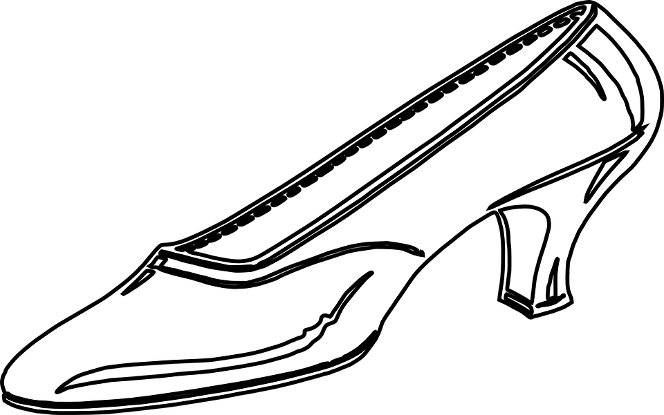 High Heel Outline PNG - 65902