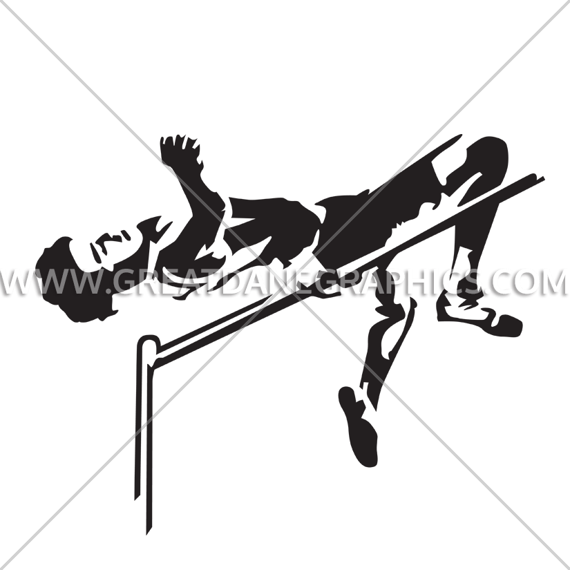 High Jump PNG Black And White-PlusPNG.com-825 - High Jump PNG Black And White