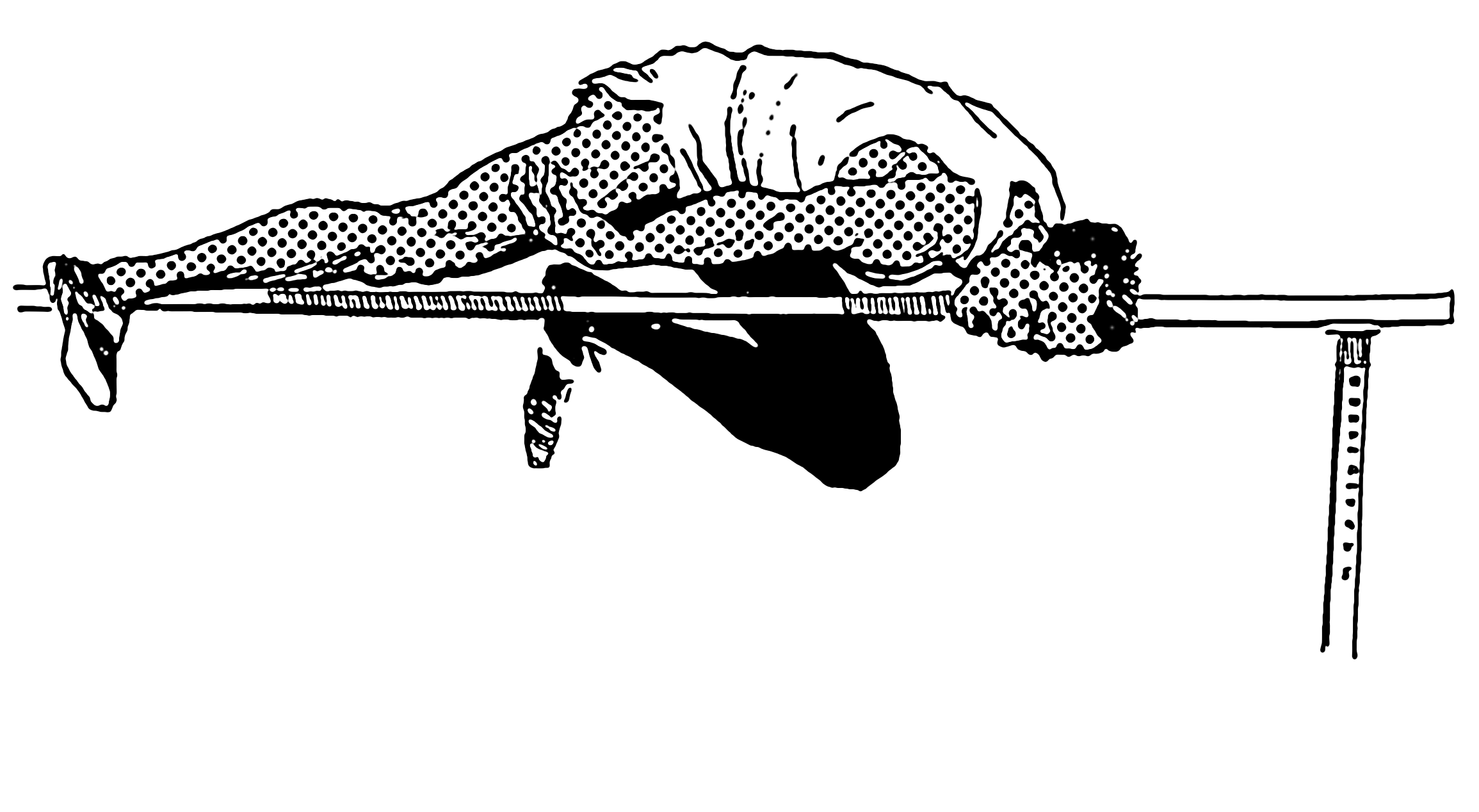 File:High Jump (PSF).png - High Jump PNG Black And White