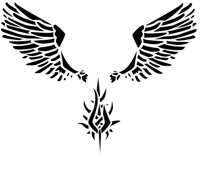 Wings Tattoos PNG - 4611