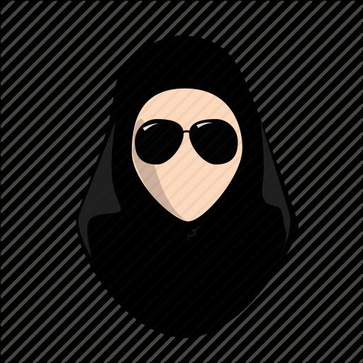arab, fashion, female, hijab, lady, style, woman icon - Hijab PNG