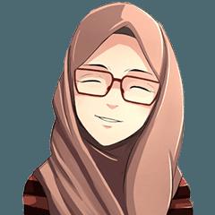 Beautiful Hijab Girl - Hijab PNG