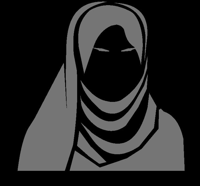 Hijab Cliparts #134430 - Hijab PNG