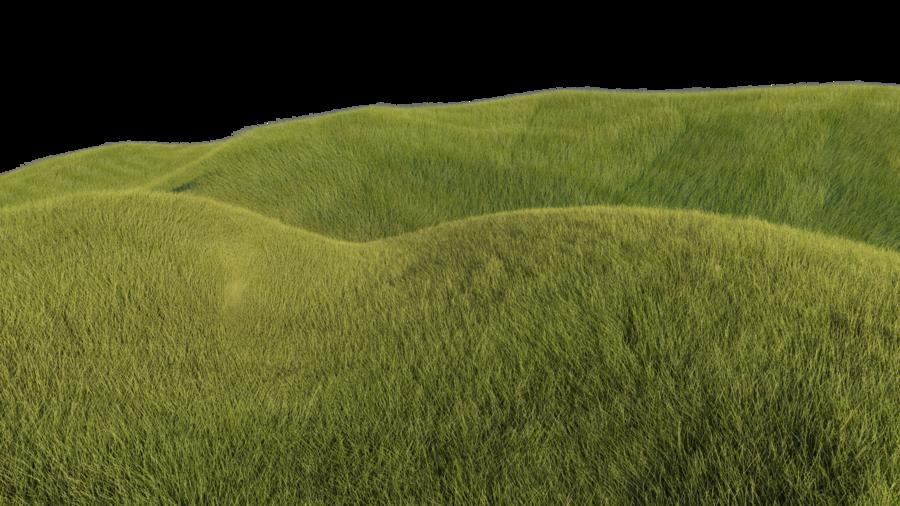 Grassy Hills by kakarottt PlusPng.com  - Hill Background PNG