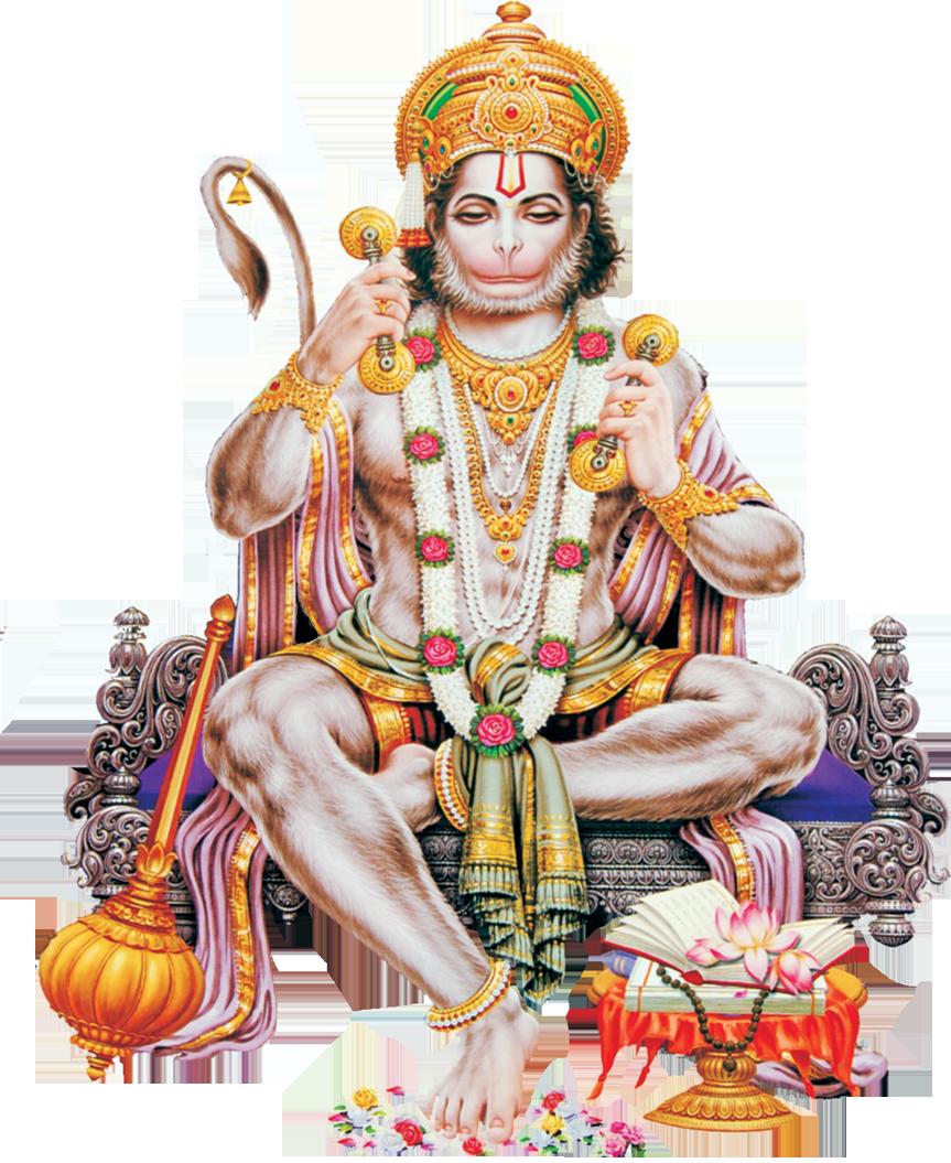 Download PNG Image - Hanuman Png Pic 1964 - Hindu God PNG HD