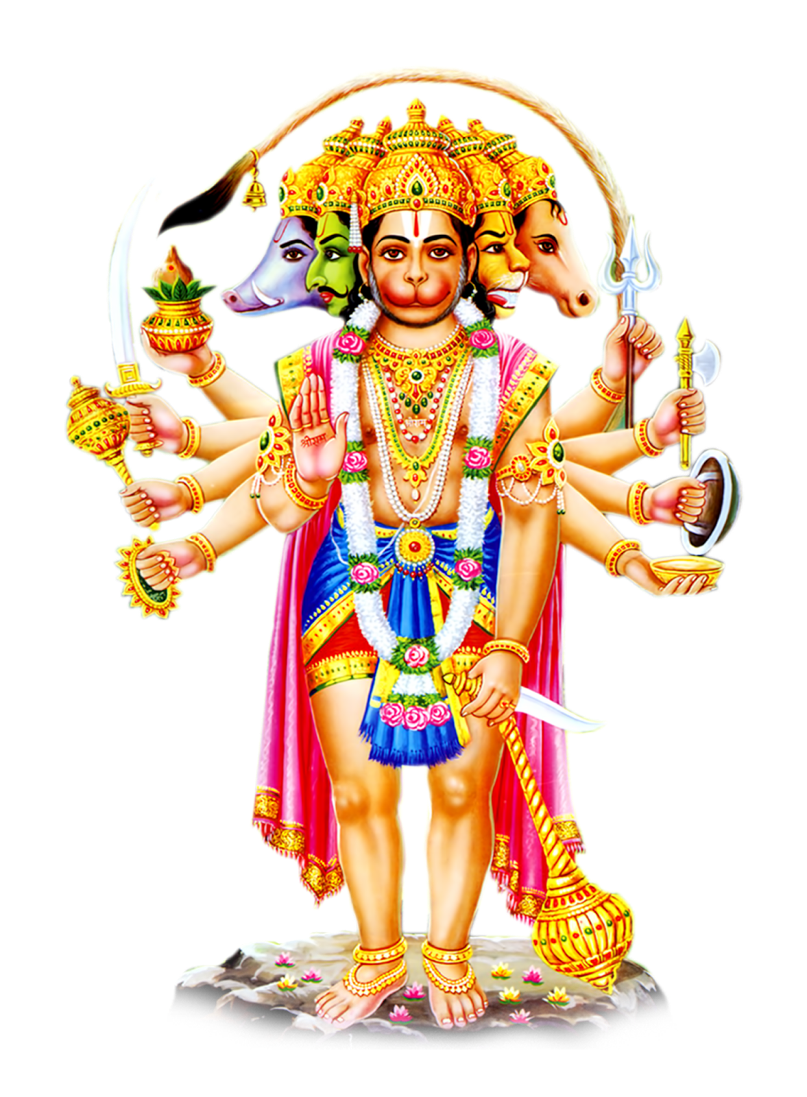 Hanuman PNG HD - God HD PNG - Hindu God PNG HD
