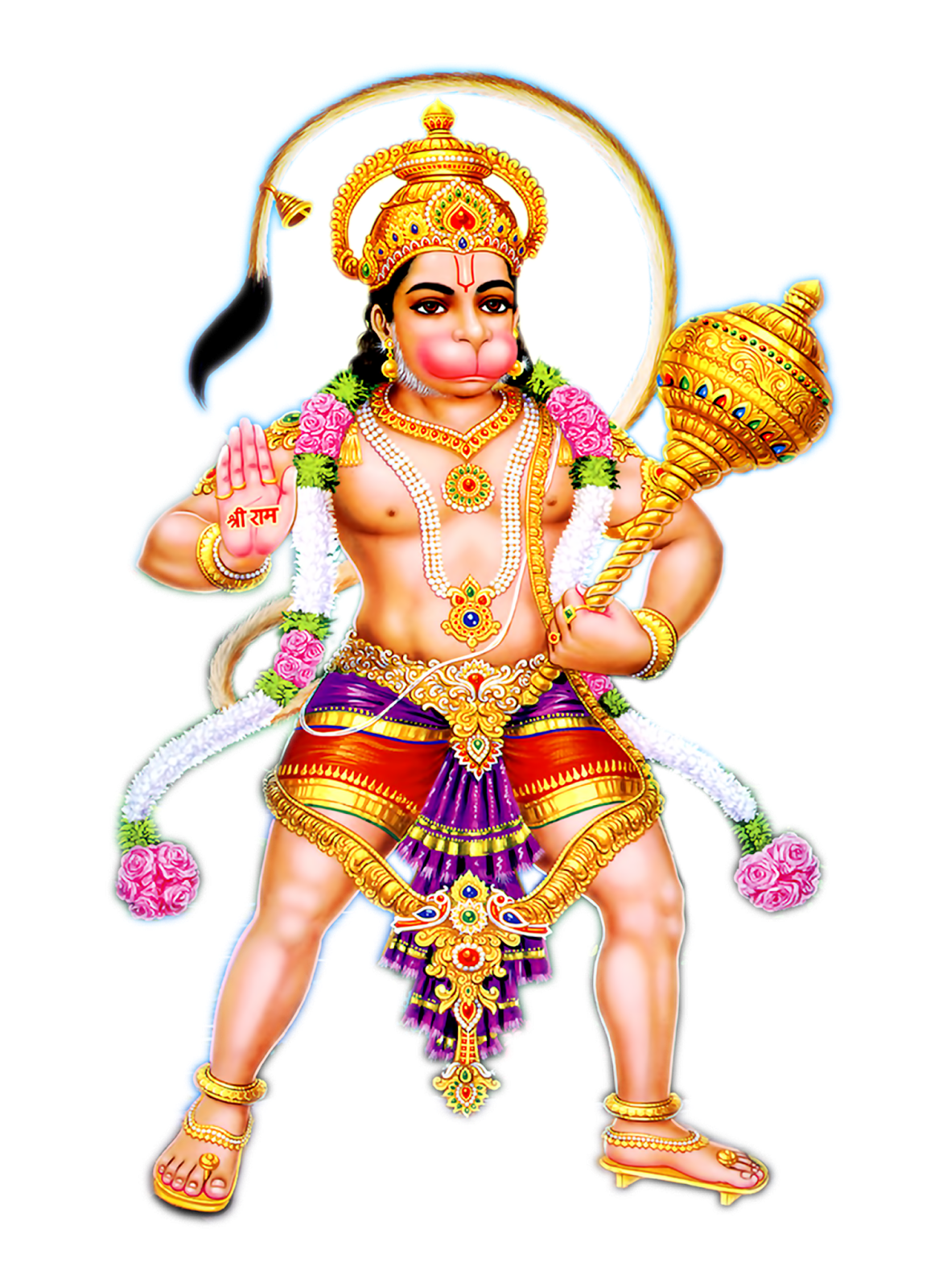Hanuman PNG Transparent Image - Hindu God PNG HD