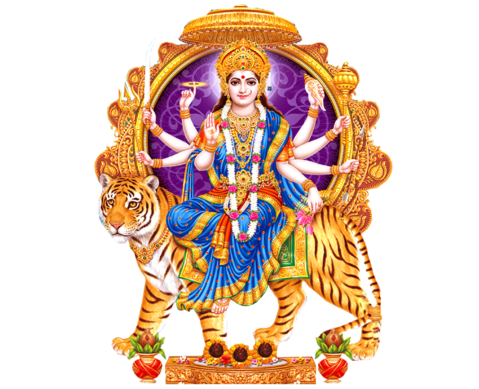 Here is the latest goddess Durga matha Png images for designs Indian Goddess  Durga png vector - Hindu God PNG HD