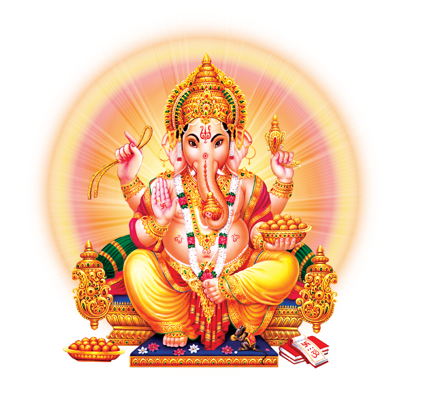 lord-ganesha-hd-picture.png (845×832) - Hindu God PNG HD