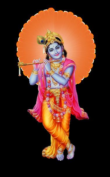 Lord Krishna Png Pic PNG Image - Hindu God PNG HD