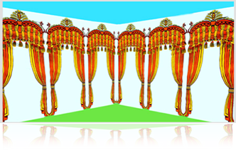 Hindu Wedding Mandap PNG Indian