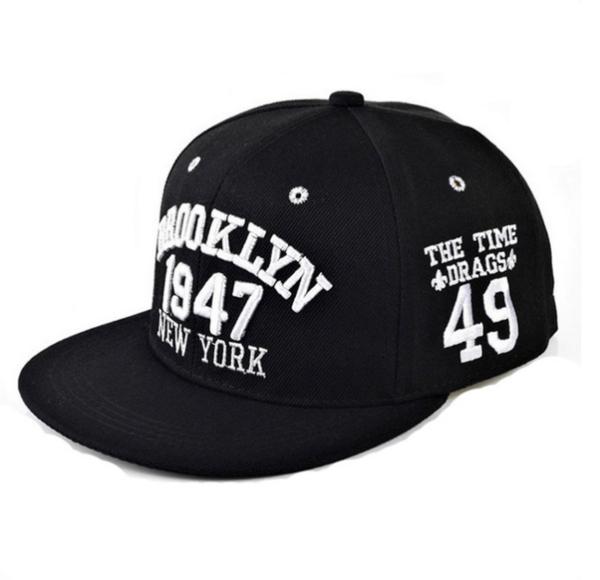 098d0d79ca9d4 PlusPng.com 1947 Brooklyn Menu0027s Baseball Hip Hop Cap For Men  PlusPng.com .