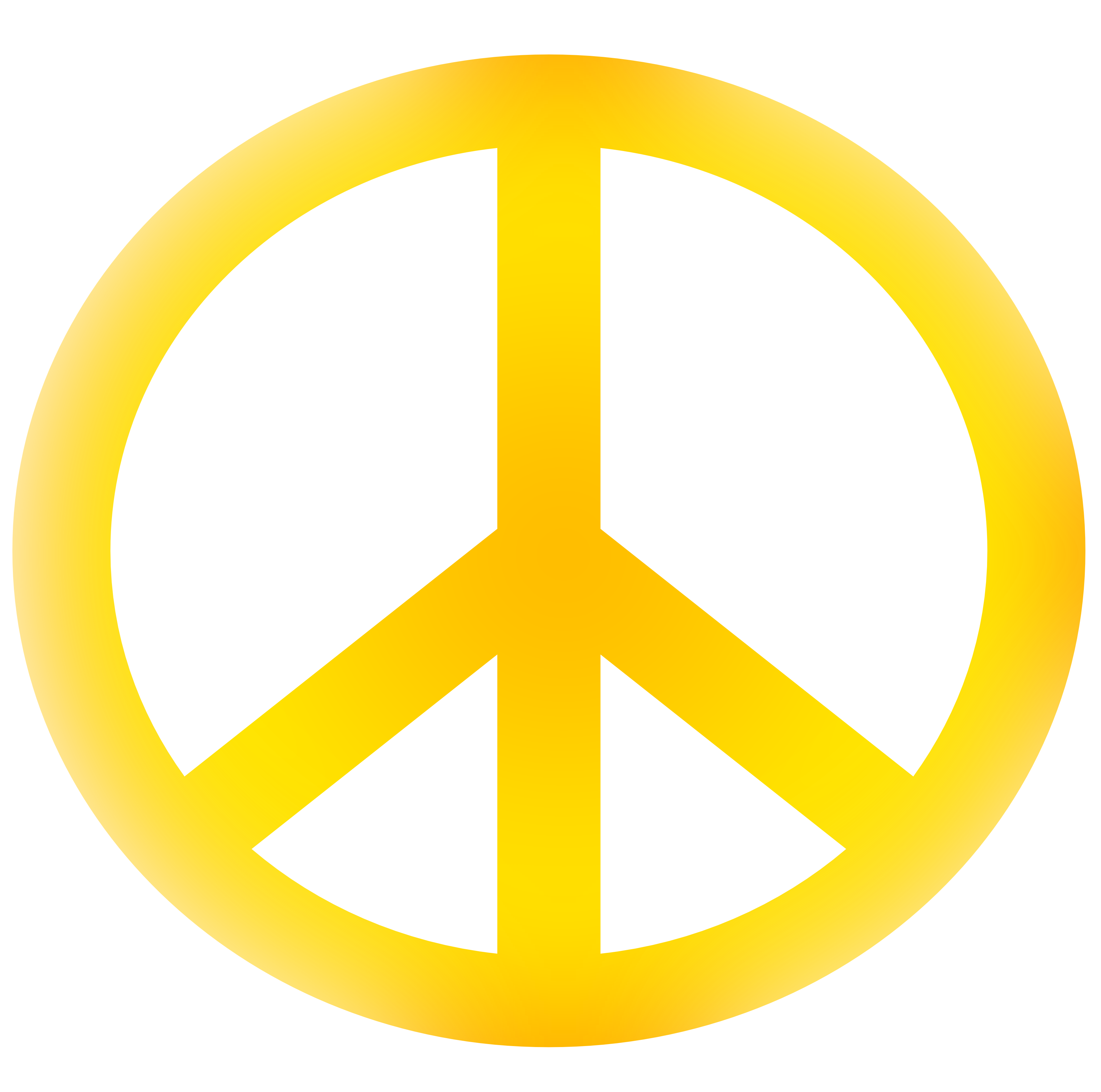 Download PNG image - Peace Symbol Png Hd - Hippie PNG HD