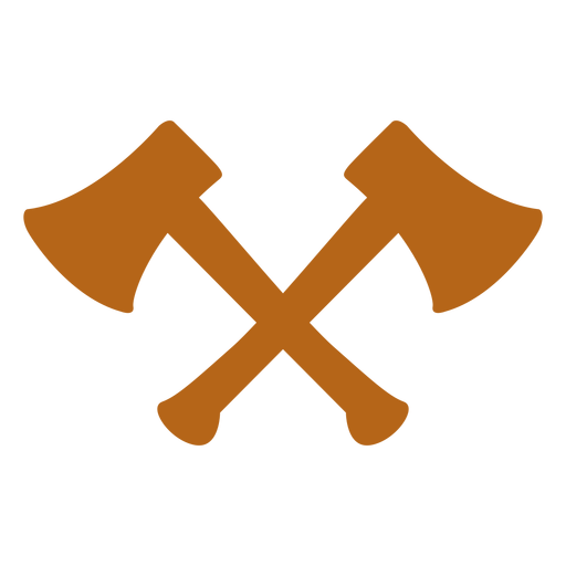 Hipster cross axe icon - Axe PNG