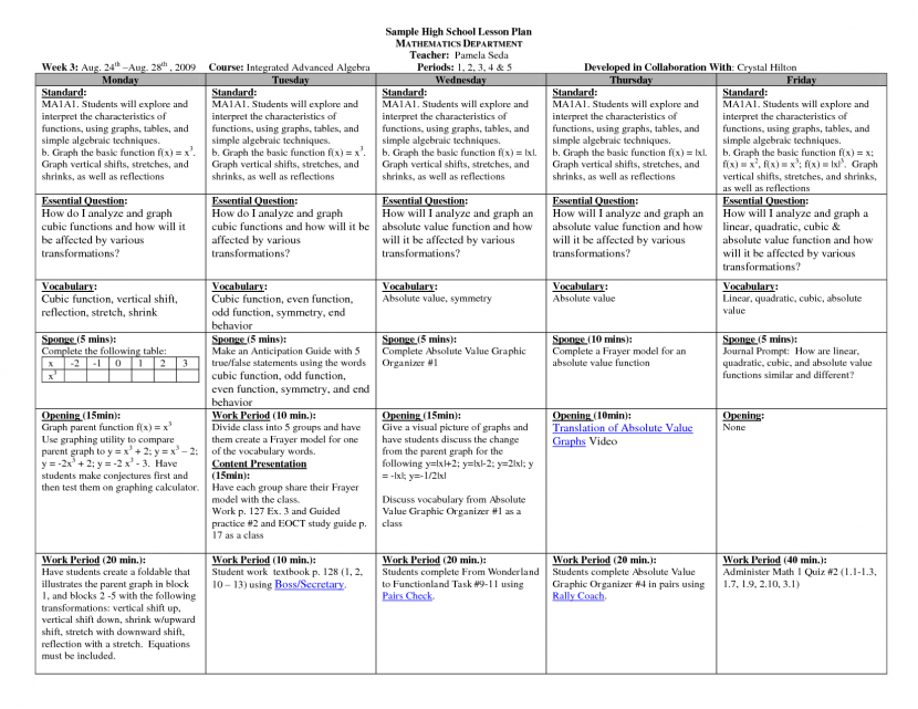 Best Lesson Plan Templates Ideas On Pinterest Teacher Lesson - History lesson plan template