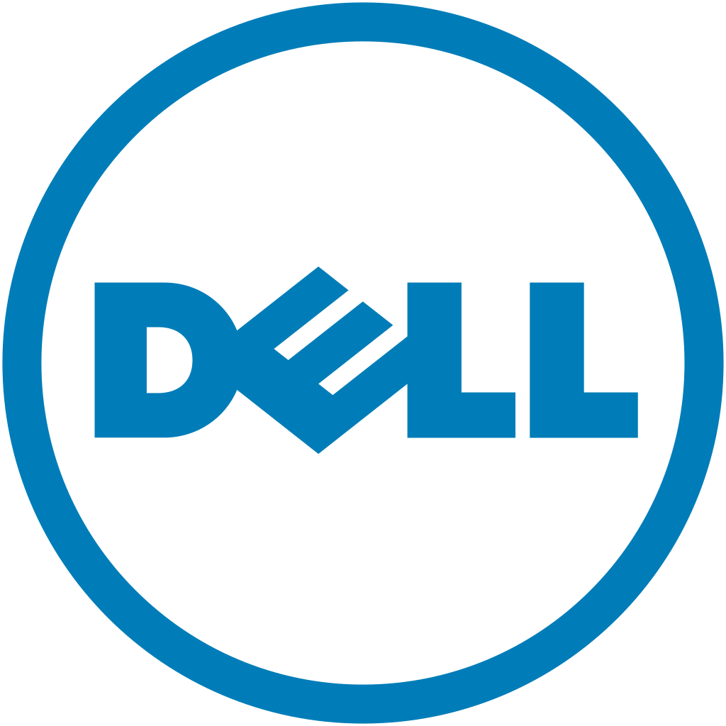 Dellu0027s former logo from 2010 to 2016 - History Of Dell PNG