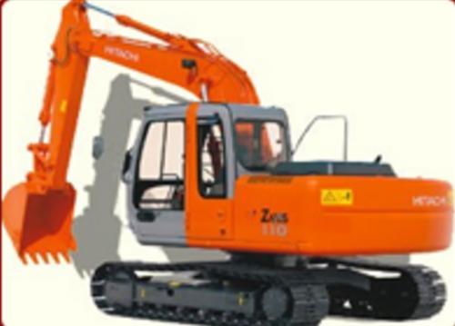 Tata Hitachi Ex 110 Excavators - Hitachi PNG
