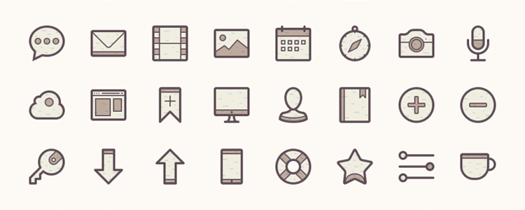 Barker Icon Set - Hobbies And Interests PNG