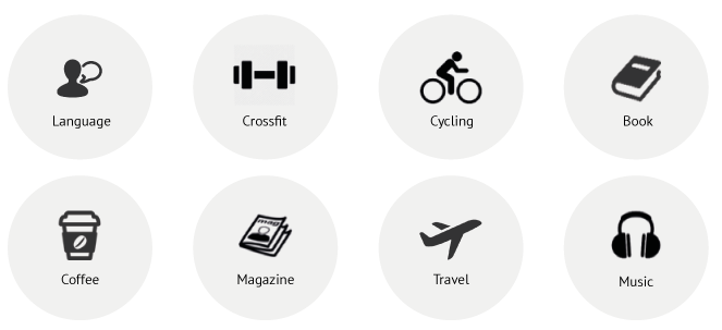 HOBBIES u0026 INTERESTS about_icon - Hobbies And Interests PNG - Hobbies PNG HD