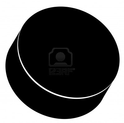 Hockey Puck Clipart | Clip Art Pin - Hockey Puck PNG Black And White
