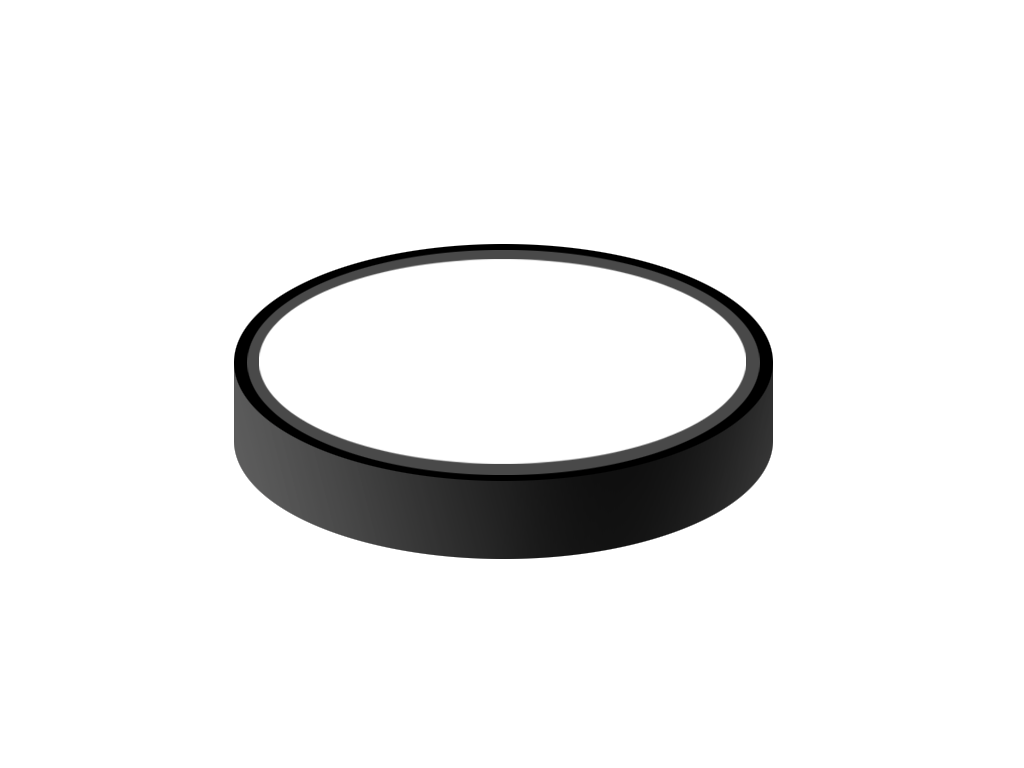 Hockey Puck Image - Hockey Puck PNG Black And White