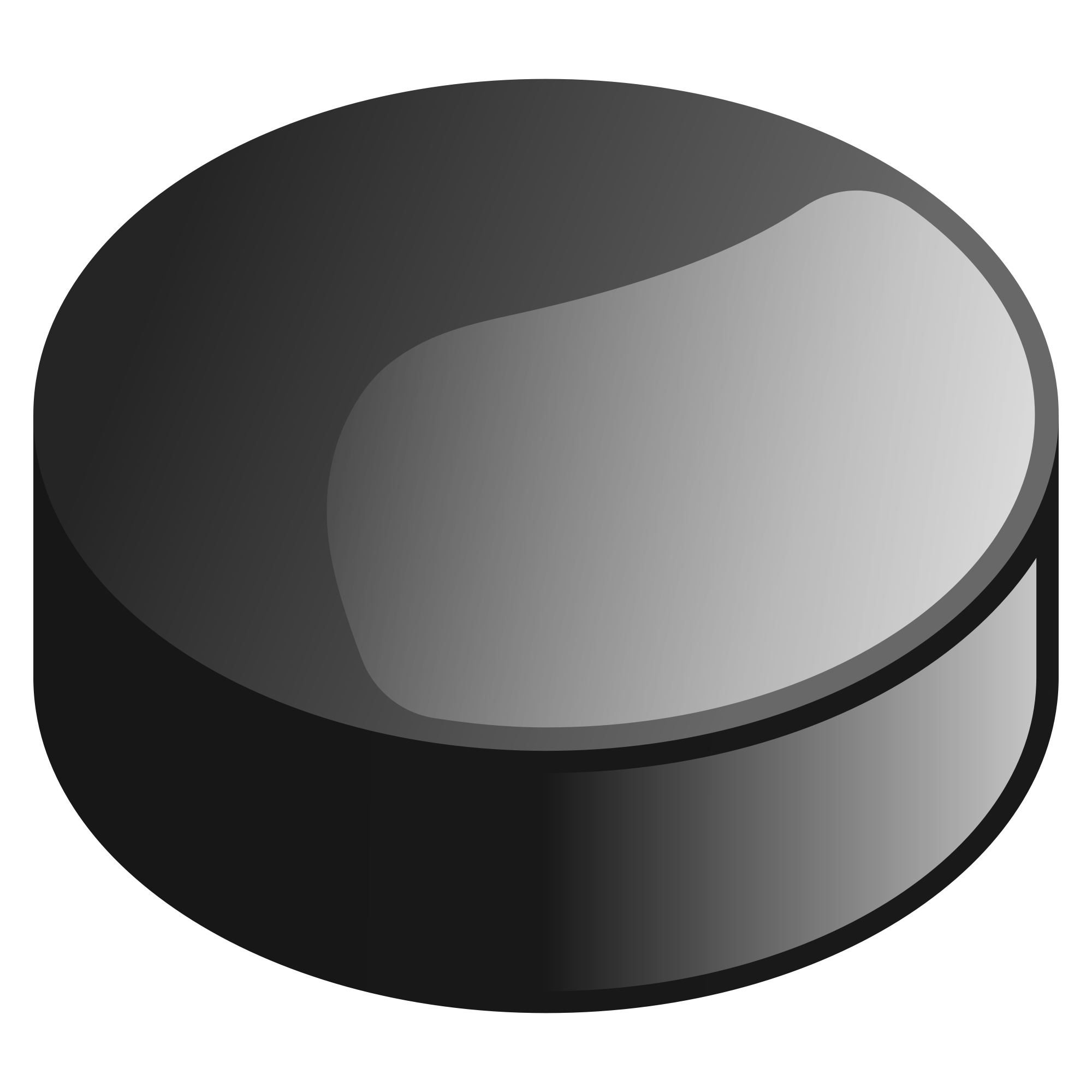 Open PlusPng.com  - Hockey Puck PNG Black And White