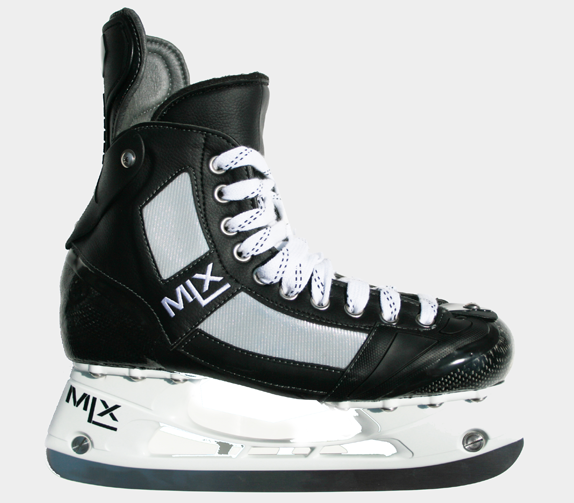 . PlusPng.com and former skating coach for the Chicago Blackhawks, Dave Cruikshank  started MLX with the idea of creating a better hockey skate using  technology that PlusPng.com  - Hockey Skates PNG